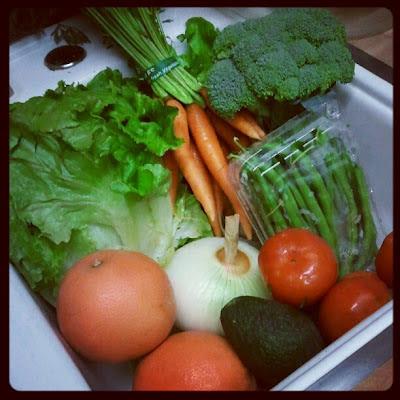 CSA farm box #3