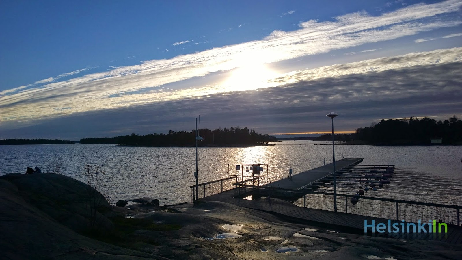 sea at Haukilahti