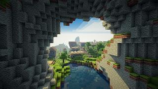 cueva de minecraft