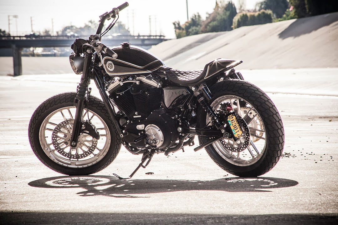 Racing Caf Harley Sporty Tracker For Motorcycle Usa By