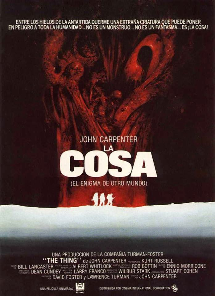 La cosa 1982 el alien gena de john carpenter las for Cose con la s
