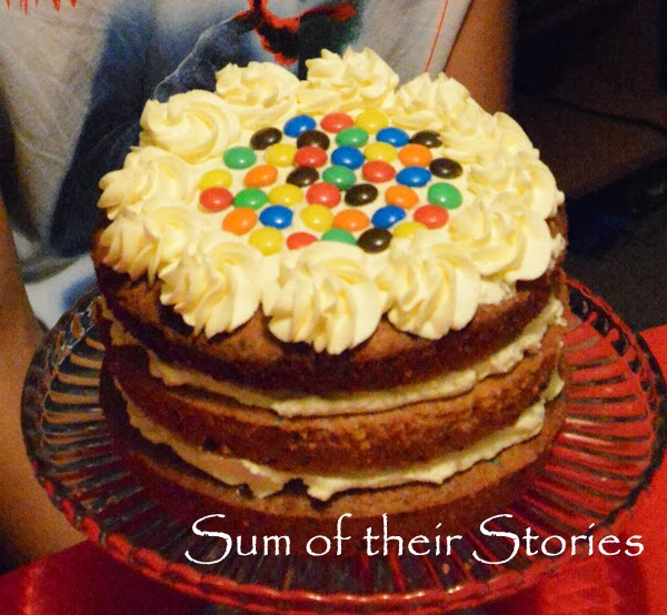 Cake Decorating Ideas With Smarties : Simple Cake Decorating Ideas That Anyone Can Do - Sum of ...