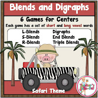 Blends and Digraphs Games