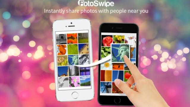 تطبيق FotoSwipe لنقل ملفات بين أندرويد و iOS