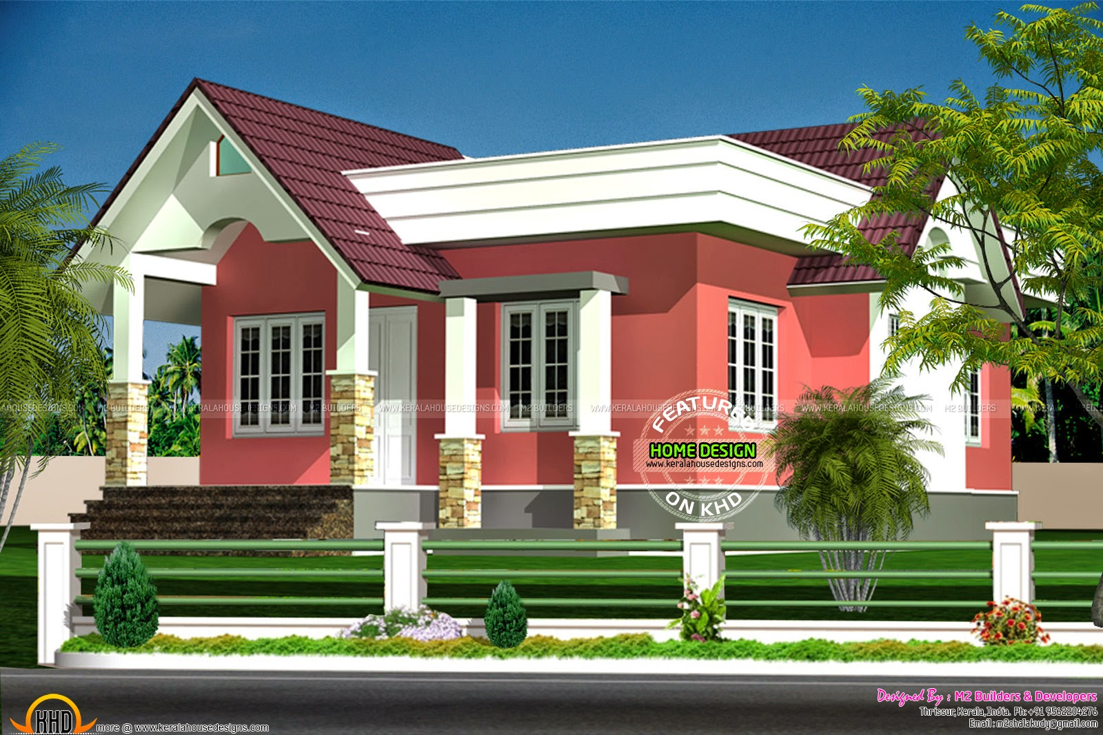 March 2015 kerala home design and floor plans for Kerala model house plans 1000 sq ft