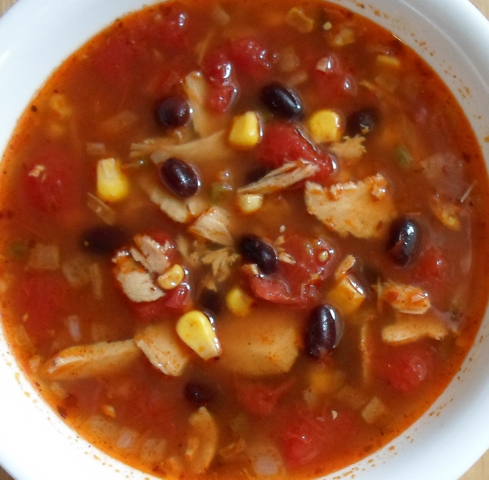 Happier Than A Pig In Mud: Southwestern Turkey and Black Bean Soup