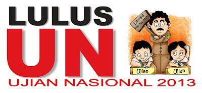 Lulus Ujian Akhir Nasional UAN 2013