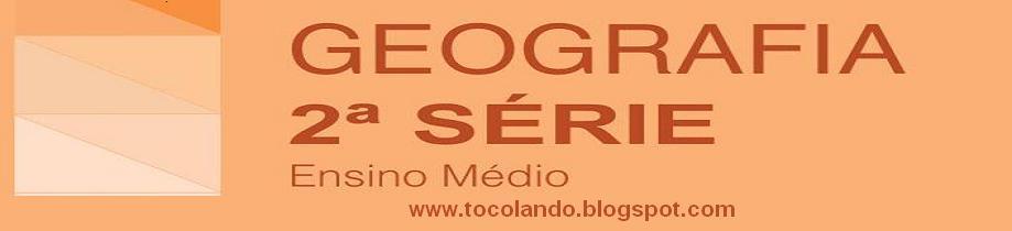 SEGUNDA SÉRIE DO ENSINO MÉDIO