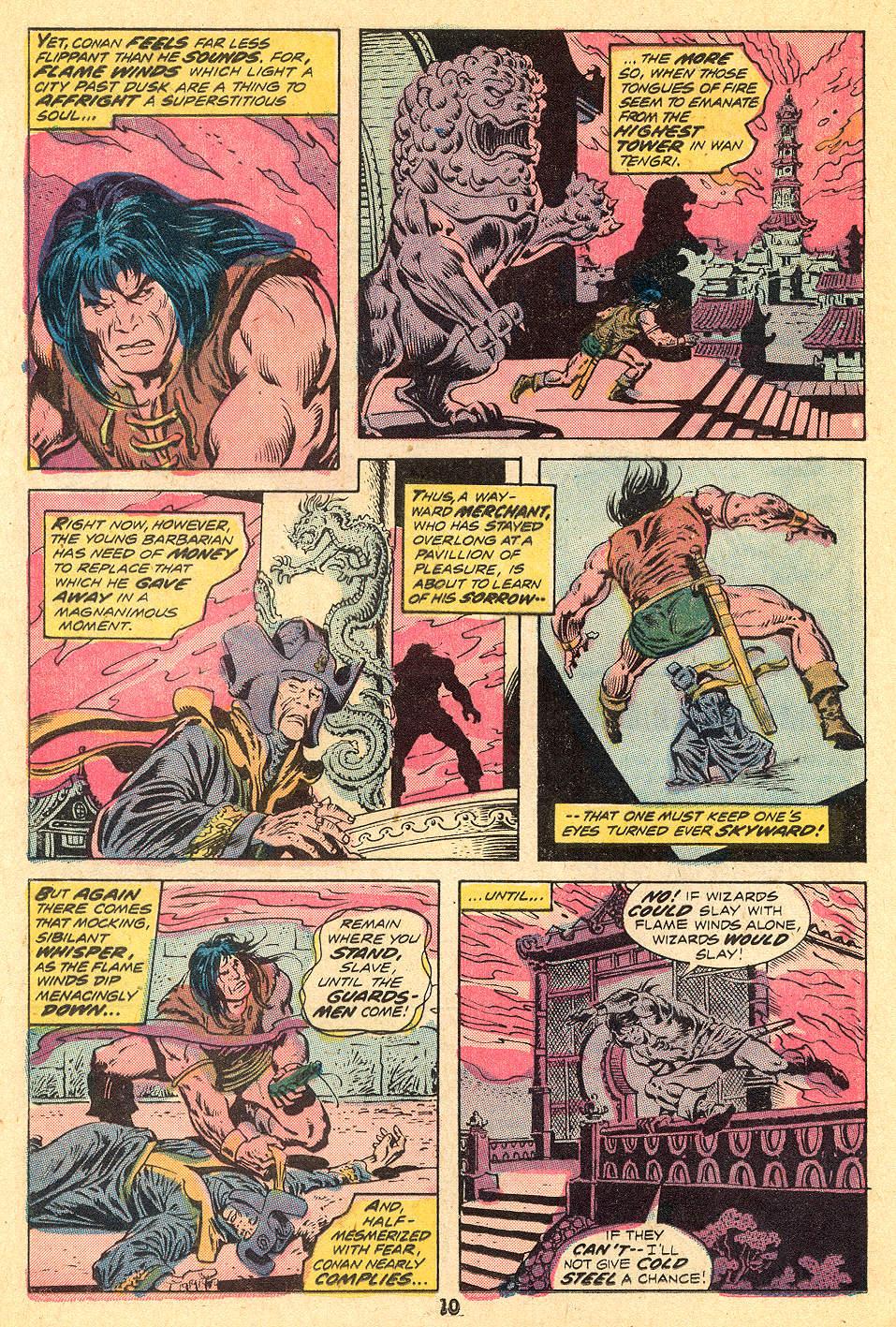 Conan the Barbarian (1970) Issue #32 #44 - English 7
