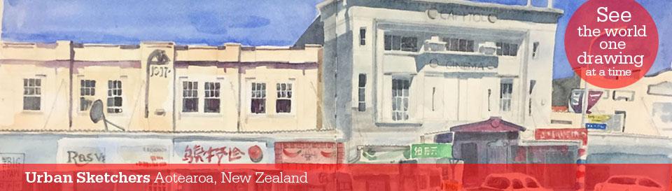 Urban Sketchers Aotearoa