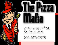Pizza mafioso, from Copenhagen