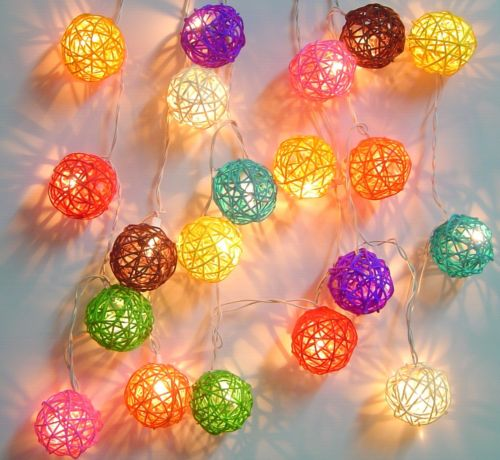 frugal home design diy rattan ball decor
