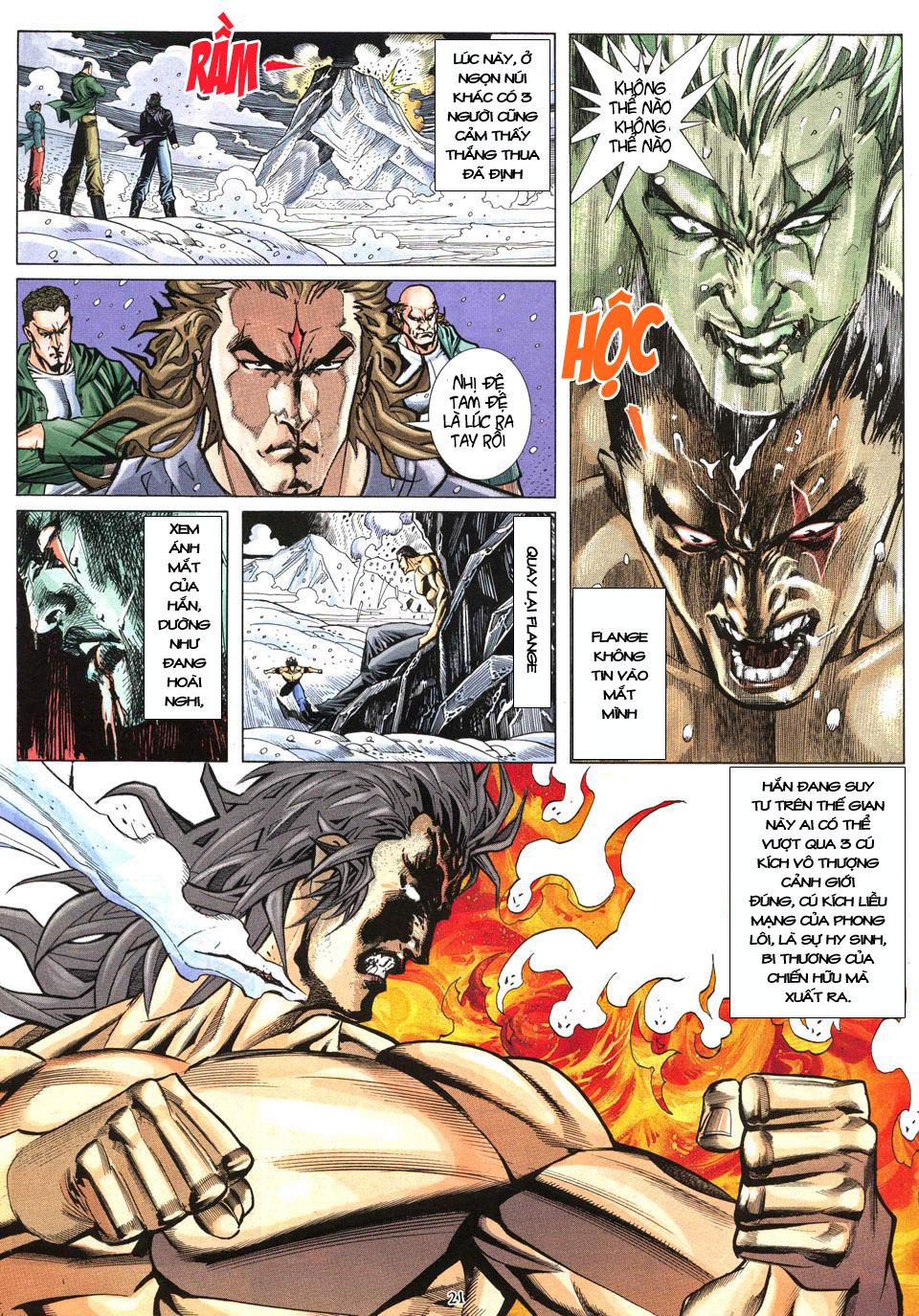 Phong Lôi chap 40 - Trang 22