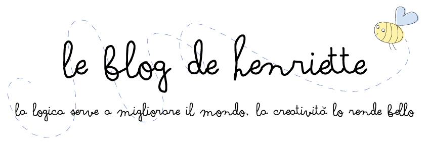 Le blog de Henriette