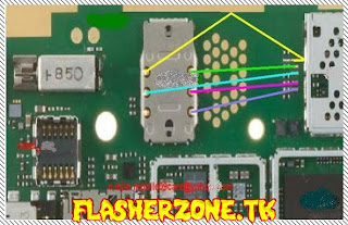 Nokia 2700c sim ways  jumper diagram hardware solution