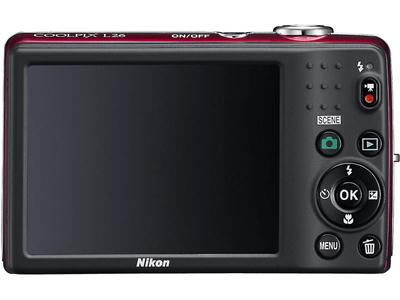 Nikon Coolpix L26, Affordable Compact Camera 16.1 MP resolution large LCD premises measuring 3.0 inches, 230,000 pixels