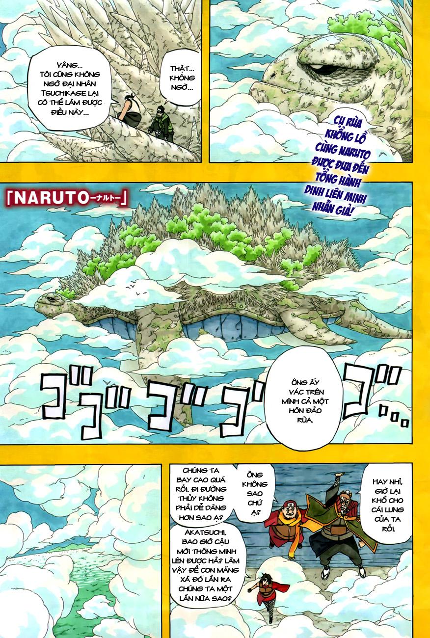 Naruto chap 515 Trang 2 - Mangak.info