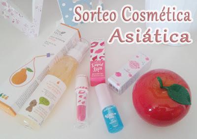 sorteo cosmetica asiatica