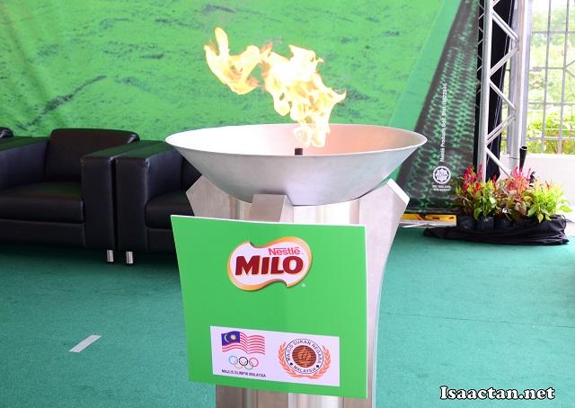 MILO on fire!