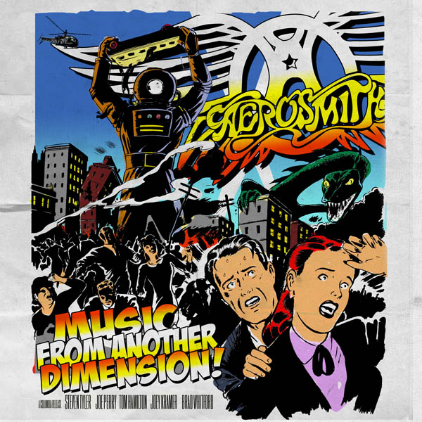 Copertina Aerosmith Music From Another Dimension