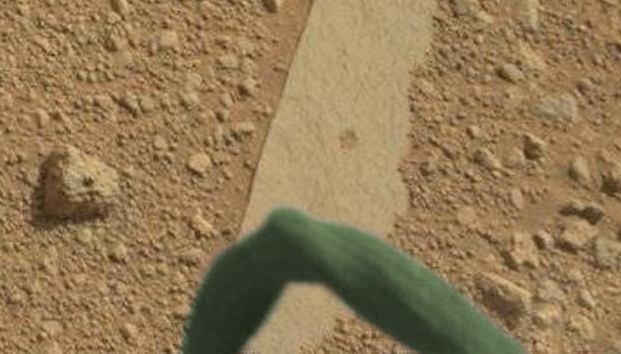 Alien Creature Caught By Mars Rover 2015, UFO Sighting News