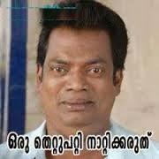 oru thettu patti naattikkaruth Salim Kumar - Malayalam Comedy Dialogues Comment image