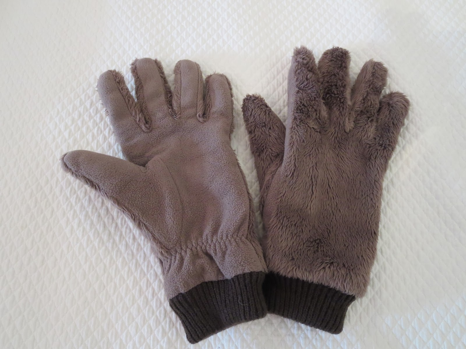 faux furry gloves for women over 50