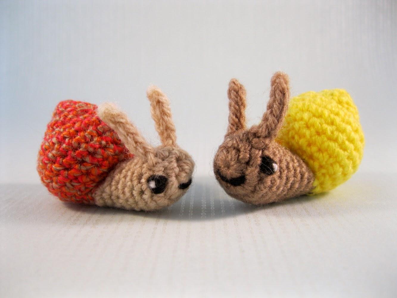 Amigurumi Beetle : LucyRavenscar - Crochet Creatures: Mini Pets - Snails ...