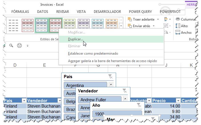 Aplicar formato en segmentos de datos