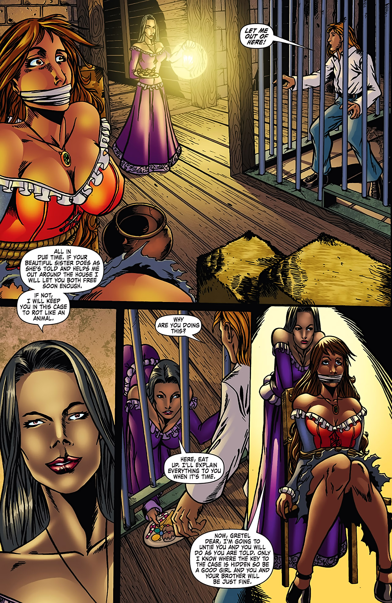 Grimm Fairy Tales (2005) Issue #3 #6 - English 18