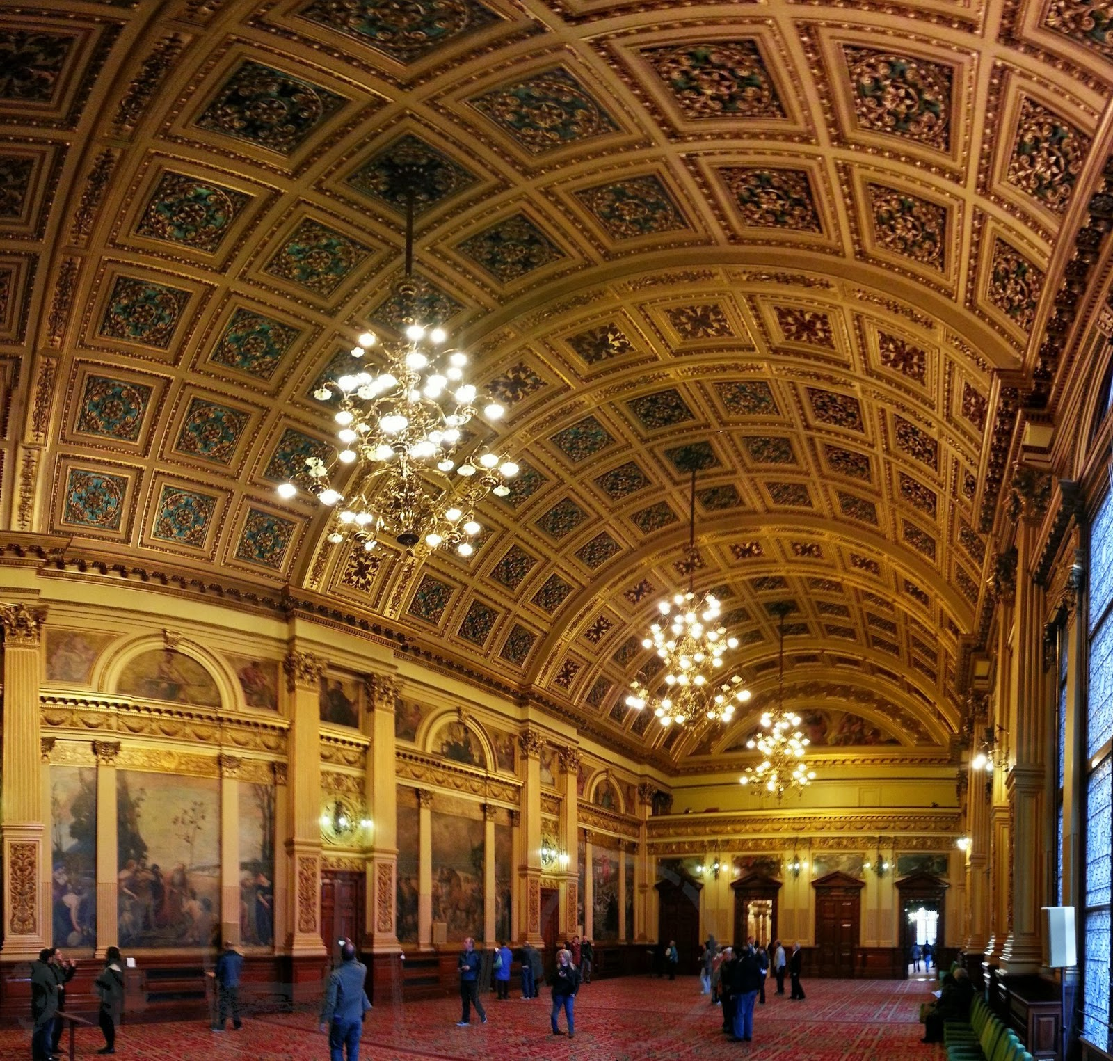 Banqueting Hall, City Chambers, Glasgow