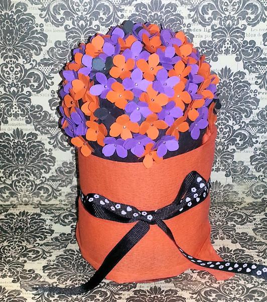 Bola de flores para decorar cualquier rinc�n bonito o fiesta - DIY
