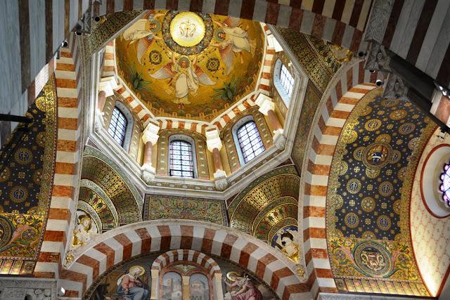 Basilica Notre-Dame de la Garde Marseille dome