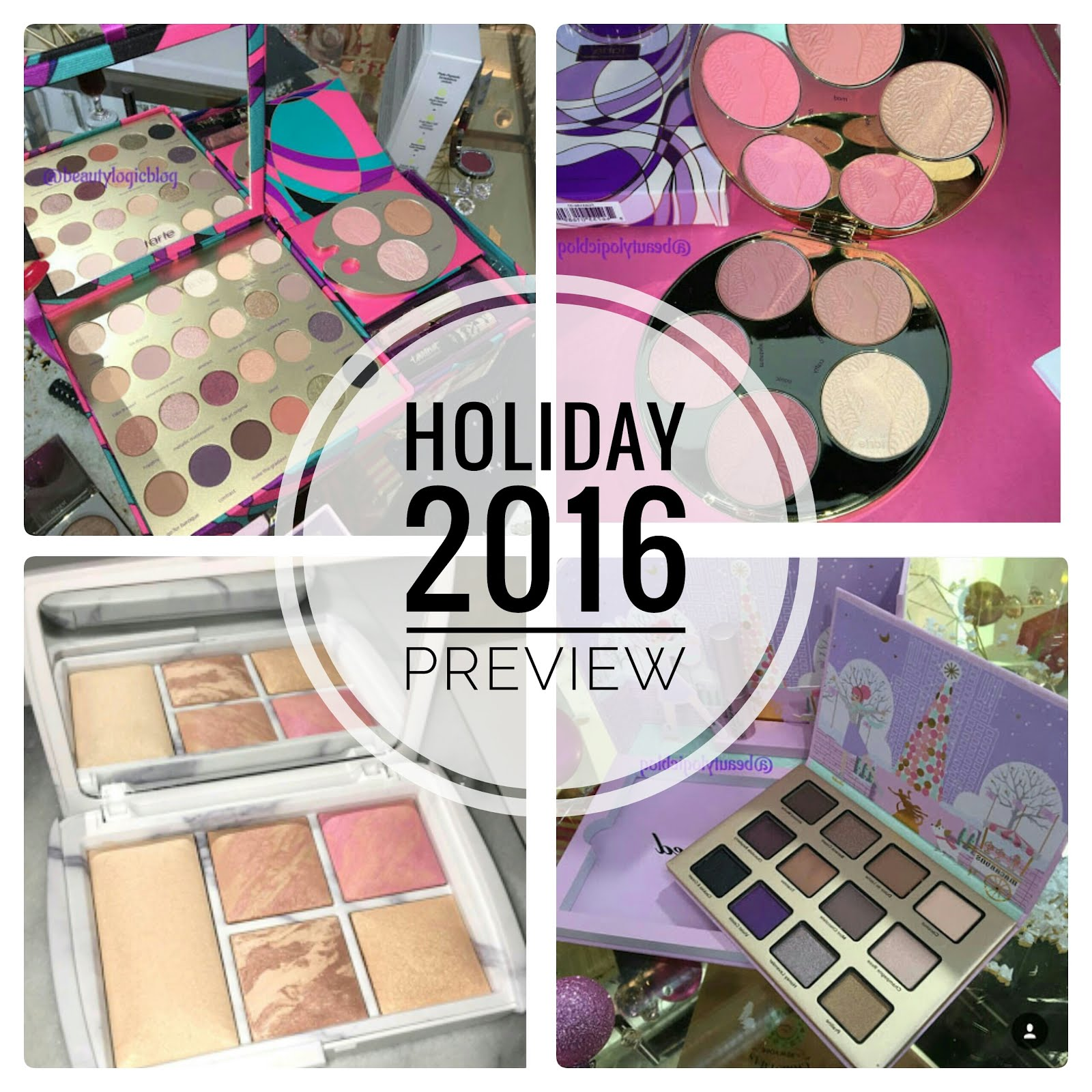 Holiday 2016 Makeup