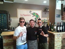Con Miguel Saez y Mario Mendes