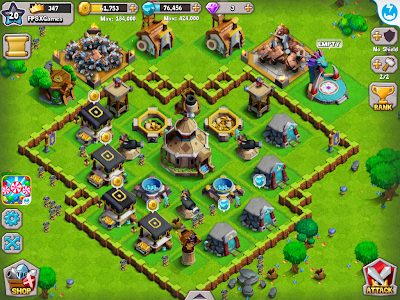 Kingdom Clash IOS game like Clash of Clans