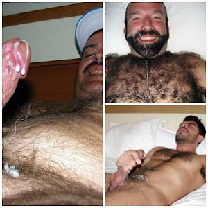 Peludos/Bears gozando gostoso