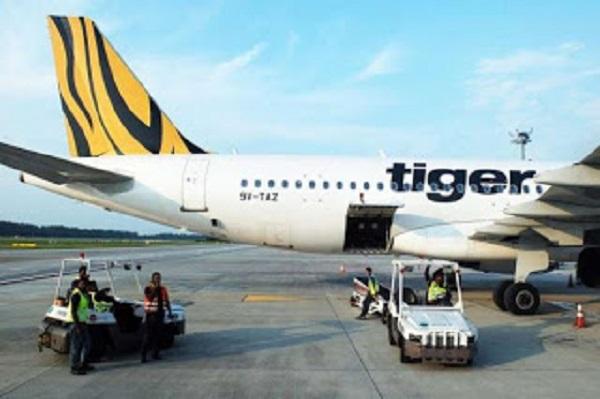 Pesawat Tiger Air Buat Pendaratan Cemas