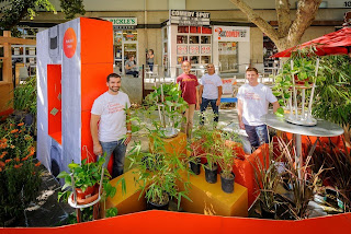 PARK(ing) Day and bamboo in Sacramento, California