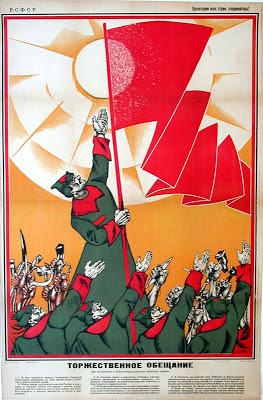 """""""Así nació el Ejército Rojo, hace 95 años"""" - texto publicado en el blog """"Cultura bolchevique"""" en febrero de 2013 - en los mensajes otro artículo sobre el mismo asunto Juramento+ejercito+rojo"""