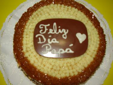 """Torta """"Feliz Día Papá"""" (15 personas)"""