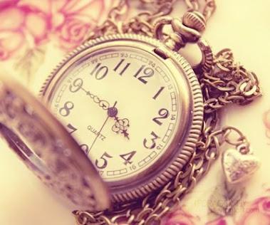 Nosso curto tempo. Tempo curto e precioso!