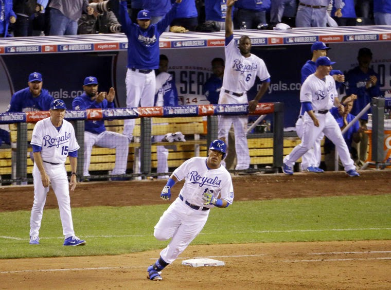BÉISBOL (World Series MLB 2014) - Los Royals se la devuelve a San Francisco