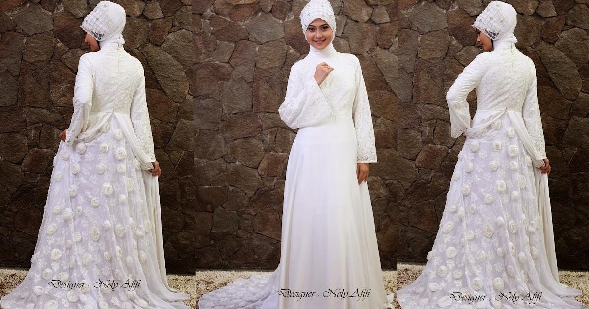 Nely Afifi Fashion Designer Baju Pengantin Modern