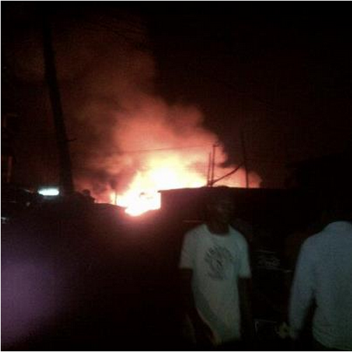 Ketu Plank Market On Fire