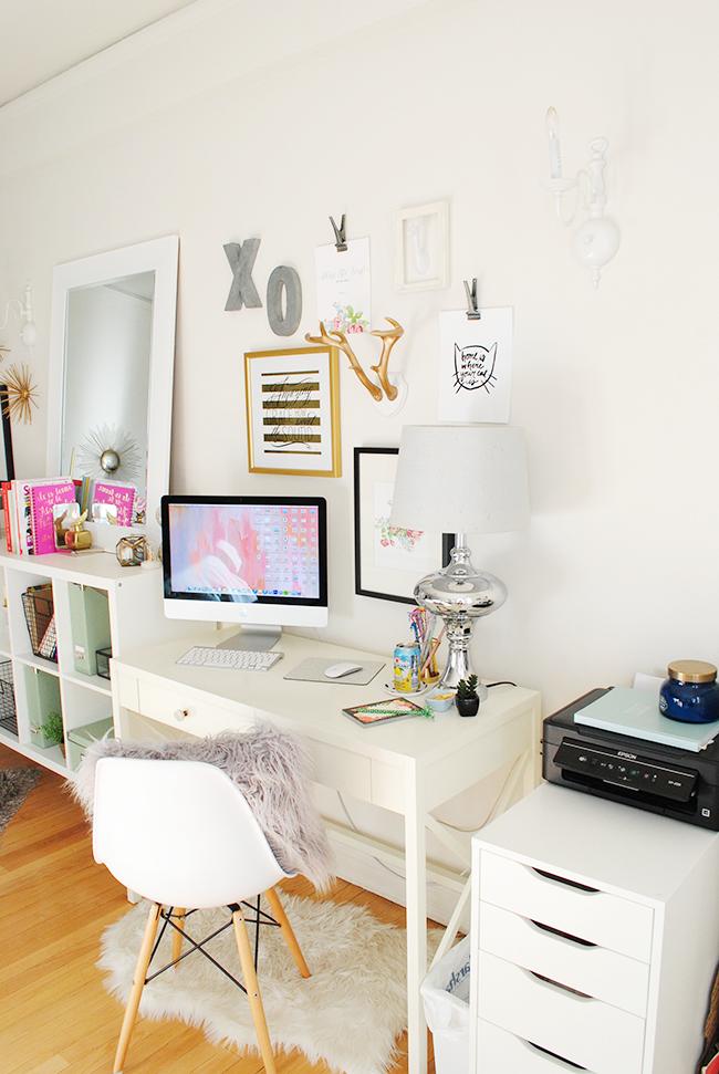 Una oficina en casa bonita pr ctica y funcional decoracion for Casa practica decoracion