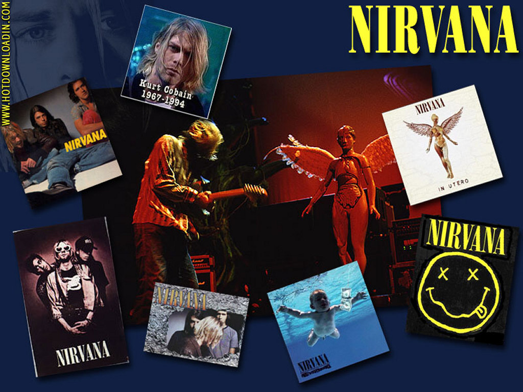 nirvana collage