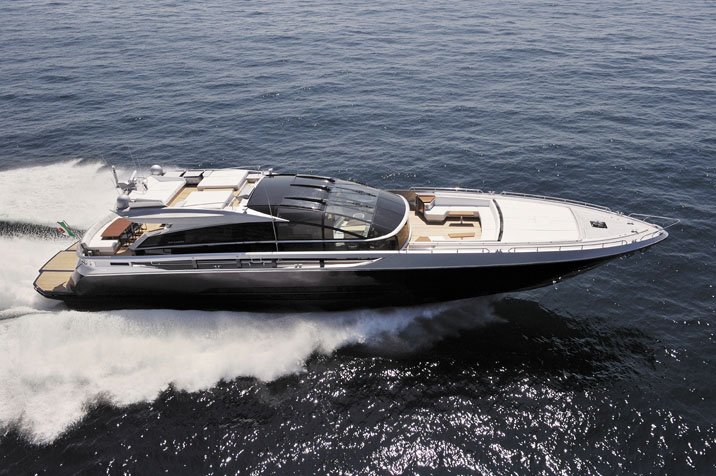 Baia One Hundred. Builder: Baia Yacht Loa: 101` Beam: 24`