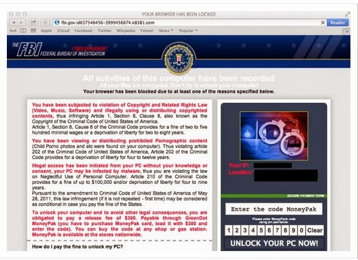 Virus Removal Instruction How To Remove The Fbi Mac Os X Cyber