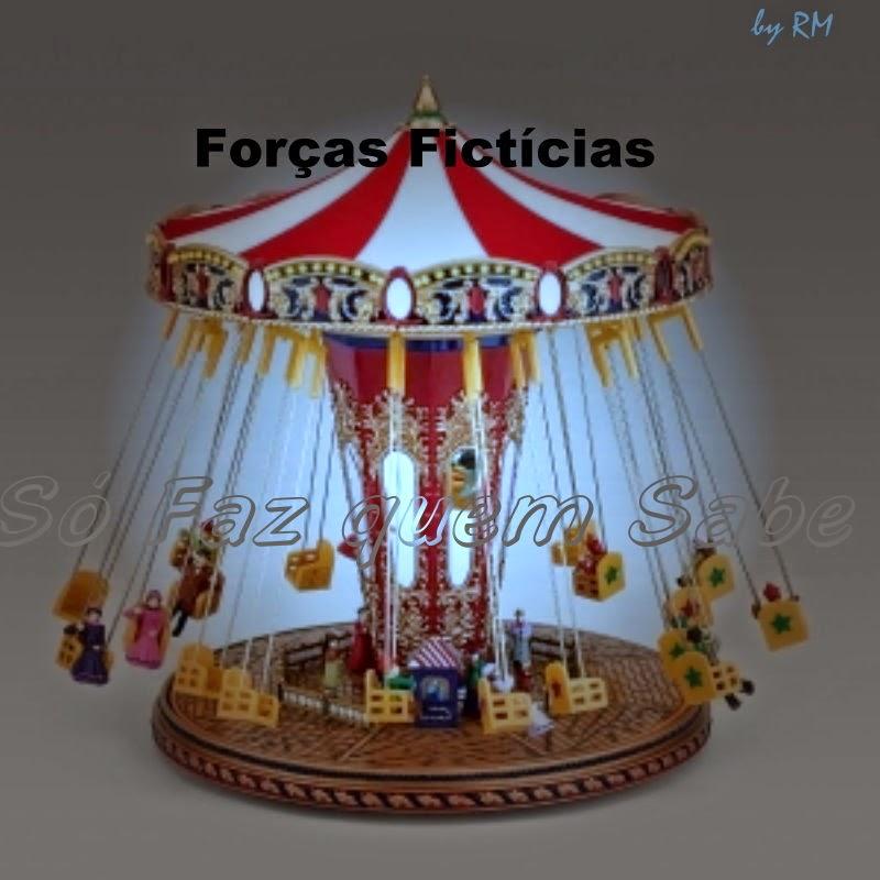 A força de Coriolis e a Força Centrífuga são forças inerciais, ou seja forças fictícias, pseudoforças ou não-forças.